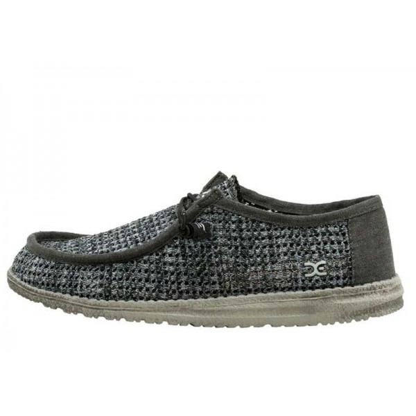 wally sox perforated black gr DUDE