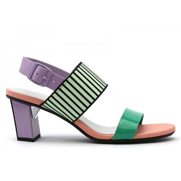pop sandal mid pastel UNITED NUDE